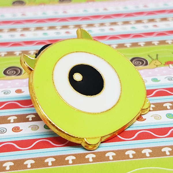 2016 Disney World Land Monsters Inc Pixar Mike Wazowski Pin - Edición limitada 1000