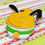 Cupcake Pluto Dog Enamel Disney Pin | Hidden Mickey Collection Mini Booster Cup Cake - Vintage Radar