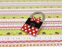Load image into Gallery viewer, Padlock Minnie Mouse Enamel Pin | Disney Lapel Pin - Vintage Radar
