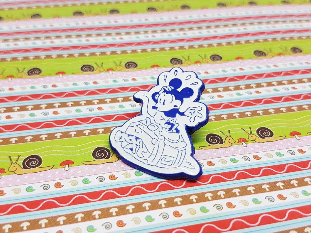 Old-school Clumsy Mickey Mouse Pin | Disney Enamel Pin - Vintage Radar