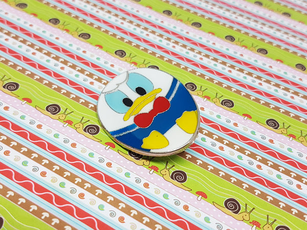 Tsum Tsum Donald Duck Enamel Pin | Disney Lapel Pin - Vintage Radar