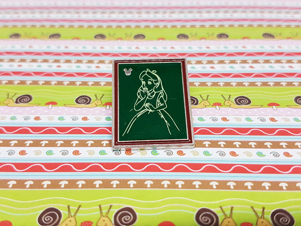 Alice in Wonderland Enamel Pin | Disney Lapel Pin - Vintage Radar