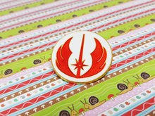 Load image into Gallery viewer, Jedi Order Enamel Pin | Star Wars Lapel Pin - Vintage Radar