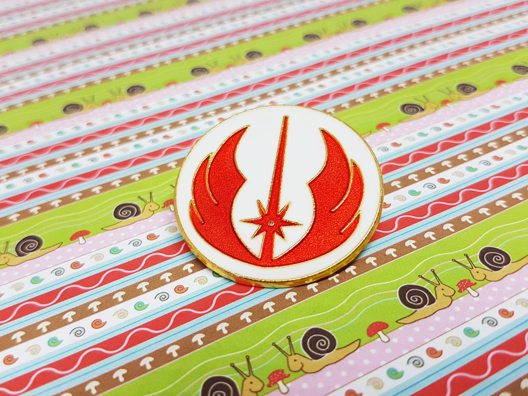 Jedi Order Enamel Pin | Star Wars Lapel Pin - Vintage Radar