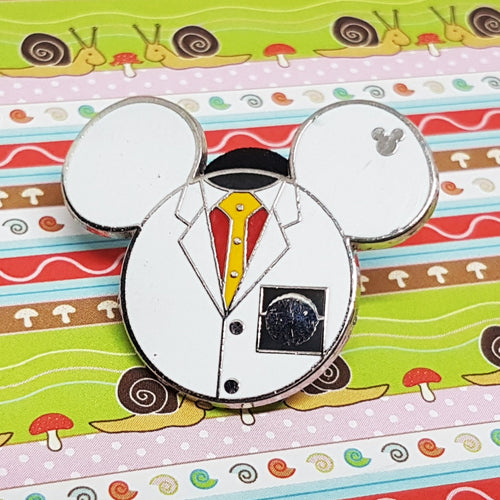 Pin de Esmalte del Doctor (Doctor Enamel Pin) Mickey Mouse Lapel Pin - Vintage Radar