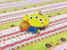 Load image into Gallery viewer, Toy Story Alien Enamel Pin | Disney Lapel Pin - Vintage Radar
