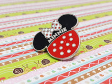 Load image into Gallery viewer, Minnie Mouse Polkadot Lapel Pin | Disney Enamel Pin - Vintage Radar
