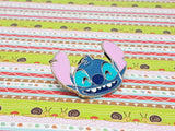 Laughing Stitch Enamel Pin |  Disney Enamel Pin - Vintage Radar