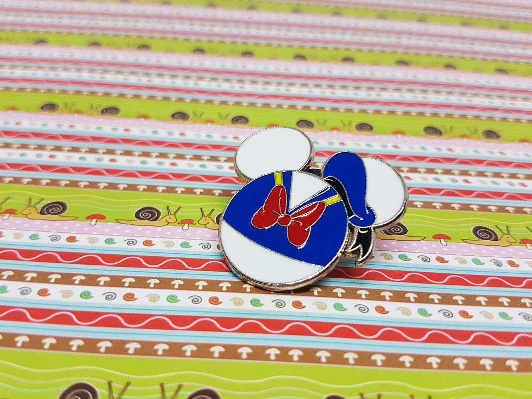 Cute Donald Duck Enamel Pin |  Disney Lapel Pin - Vintage Radar