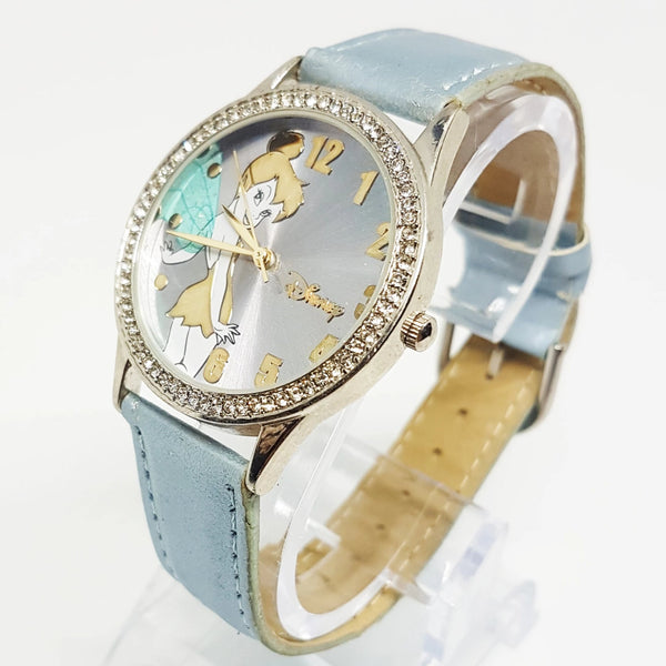 Blue Disney Princess watch for women | Tinkerbell Fairy Disneyland Watch - Vintage Radar