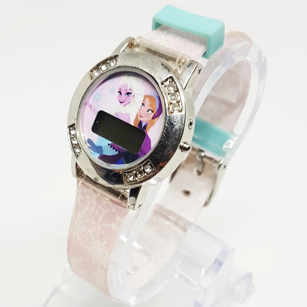 Disney Digital Watch | Princess Anna & Elsa Frozen Watch for Women - Vintage Radar