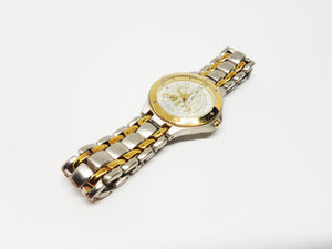 Disneyland Two Tone Watch | Gold and Silver Disney Luxurious Watch - Vintage Radar