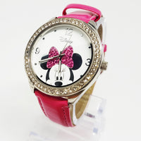 Pink Disney Watch Women | Minnie Mouse Character Ladies Watch - Vintage Radar