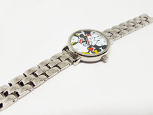 Load image into Gallery viewer, Mickey And Minnie Disney Watch | Silver-Tone Luxury Vintage Watch - Vintage Radar