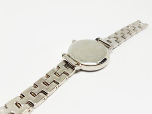 Mickey And Minnie Disney Watch | Silver-Tone Luxury Vintage Watch - Vintage Radar