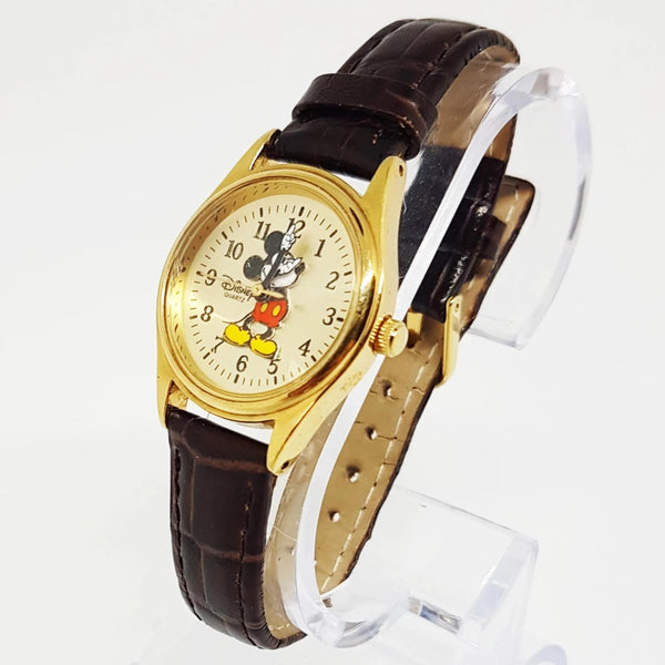 Mickey Mouse Rotating Hands Vintage Watch | Classic Disney watches - Vintage Radar