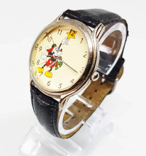 Load image into Gallery viewer, Mickey Mouse Christmas Watch | Vintage Disney Gift Watch - Vintage Radar