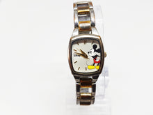 Load image into Gallery viewer, Two-tone Mickey Mouse Disney Watch | Elegant Watch For Women - Vintage Radar