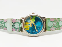 Load image into Gallery viewer, Tinker Fairy Disneyland Watch | Blue Boho Chic Vintage Watch - Vintage Radar