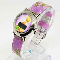Tinker Bell Floral Disney Watch | Pink Disney Fairy Watch for Women - Vintage Radar