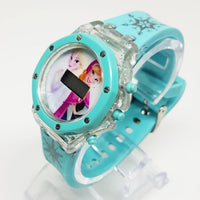 Beautiful Frozen Movie Watch | Pale Blue Elsa and Anna Princesses Watch - Vintage Radar