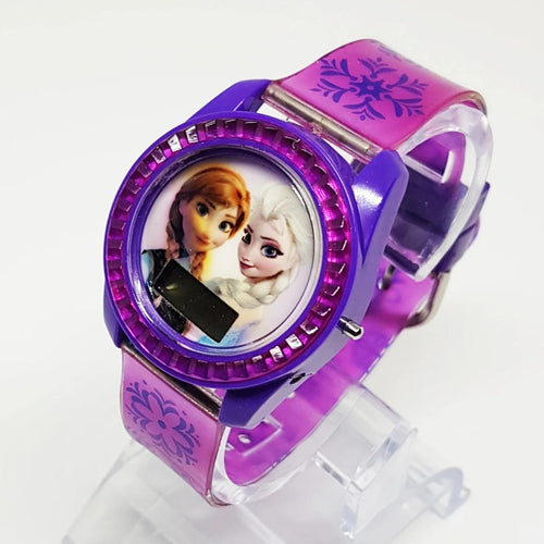 Elsa and Anna Purple Disney Watch | Frozen Movie Watches - Vintage Radar