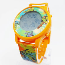 Cargue la imagen en el visor de la Galería, Teenage Mutant Ninja Turtles Watch | Digital LCD Kids Watch - Vintage Radar