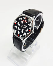 Load image into Gallery viewer, Unlimited by Garde Quartz Watch | Black Pattern Watch for Women - Vintage Radar
