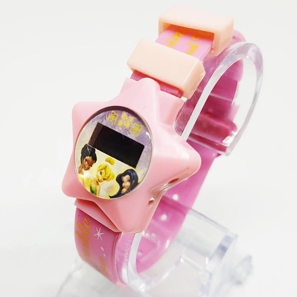 Tinker Bell Star Shaped Watch | Shine, Sparkle and Glam Pink Disney Watch - Vintage Radar