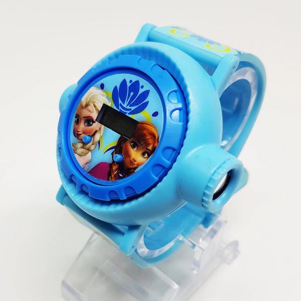 Digital Frozen Elsa and Anna Watch | Disney Princesses Watch - Vintage Radar