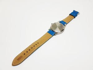 Blue M&Ms Candy Watch | Silver-tone Quartz Watch for Men or Women - Vintage Radar