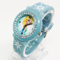 Frozen Elsa Princess Watch | Beautiful Snowflakes Disney Watch - Vintage Radar