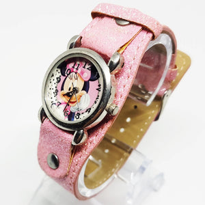 Minnie Mouse Pink Ladies Watch | Minnie Gift for Women - Vintage Radar