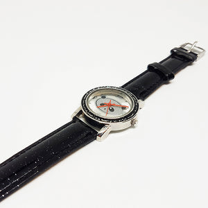 Panda Bear Silver-tone Watch | Accutime Watch for Him or Her - Vintage Radar