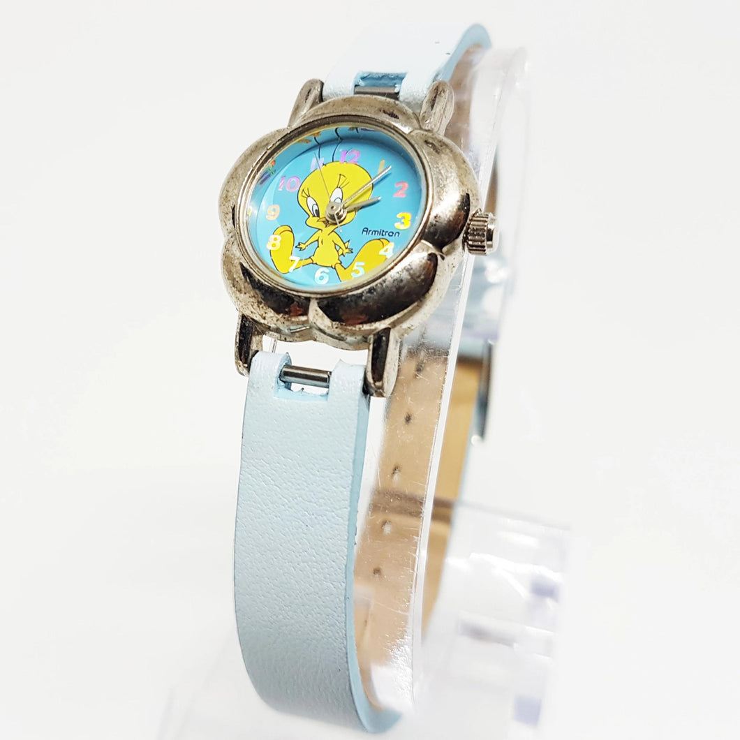 Unique Tweety Watch | Flower-shaped Looney Tunes Watch - Vintage Radar