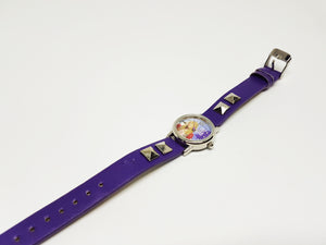 Hannah Montana Pop Star Purple Watch | Cool Watch for Women - Vintage Radar