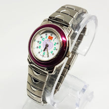 Load image into Gallery viewer, Tiny Silver-tone Watch | Mc Donald's Kids Love Heart Watch - Vintage Radar