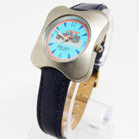 Kool Kids Quartz Watch | Racing Cars Silver-tone Vintage Watch
