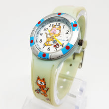 Load image into Gallery viewer, Campus Orange Cat and Bird Watch | Character Kids Watch - Vintage Radar