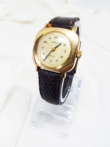 Vatic Gold Plated Watch for Women, Ladies Rare French Watch - Vintage Radar