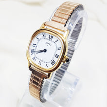 Load image into Gallery viewer, Jopel Womens Square Gold-tone Watch, Mechanical French Watches for Women - Vintage Radar