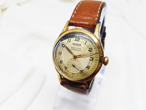 1970s Agfhor French Mechanical Watch for Men and Women Vintage - Vintage Radar