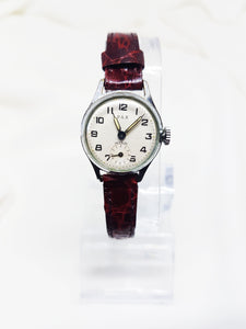 Minimalist silver ladies watch, Wedding watch for women - Vintage Radar