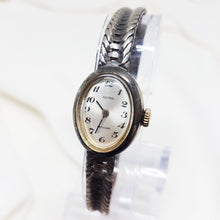 Load image into Gallery viewer, Astral Ladies Silver watch, Mechanical watch for women - Vintage Radar