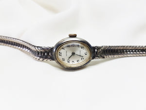 Astral Ladies Silver watch, Mechanical watch for women - Vintage Radar