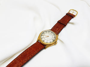 Heurlux 17 Jewels Mechanical Mens Watch | Vintage Mens Watches - Vintage Radar
