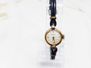Certina small gold plated ladies watch, Art deco 60s womens watch - Vintage Radar