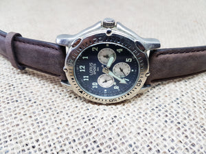 Blue Lorus Watch For Men, Vintage Men's Sports Wristwatch - Vintage Radar
