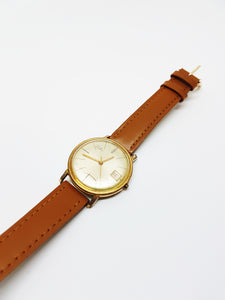 Rare Gold Swiss Difor Automatic Watch for Men and Women Vintage - Vintage Radar