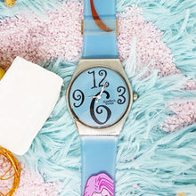 Load image into Gallery viewer, Colorful Vintage Swatch Watch | Pale Blue Swatch Watch Originals - Vintage Radar